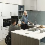 wheel chair kitchen